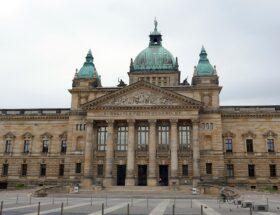 Der Dienstsitz des Bundesverwaltungsgerichts im früheren Reichsgericht in Leipzig